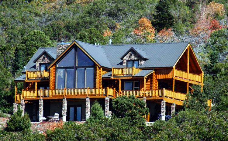 Cedar highlands leddy cedar city ut for Utah log cabins